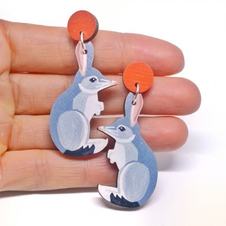 Pixie Nut and Co Bilby Earrings