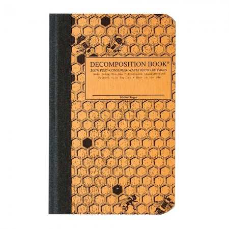 Decomposition Pocket Bound Notebook (Lined) - Honeycomb