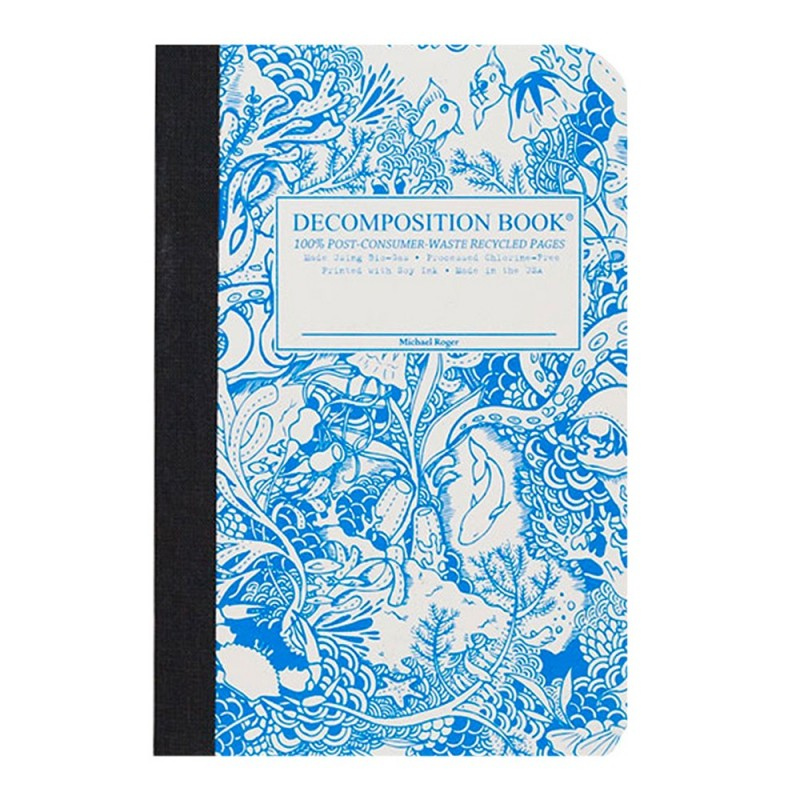 Decomposition Pocket Bound Notebook (Lined) - Under The Sea