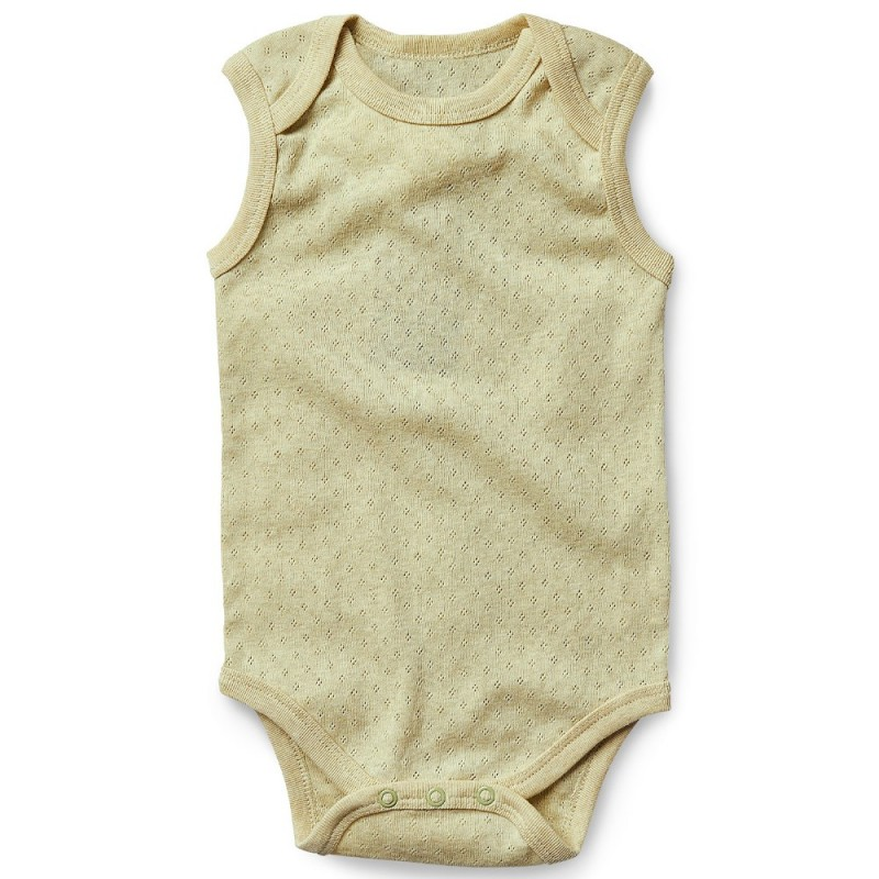 Fibre For Good Sleeveless Body Suit
