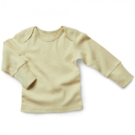 Fibre For Good Organic Cotton Long Sleeve Tee - Sage