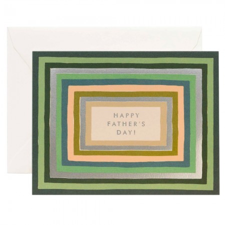 Rifle Paper Co. Greeting Card - Striped Father's Day