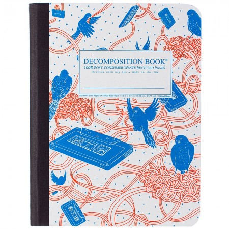 Decomposition Large Bound Notebook (Lined) - Bird Song