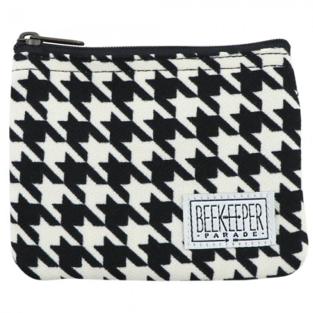 Beekeeper Parade Coin Purse - Large Houndstooth