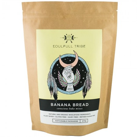 Soulfull Tribe Vegan Bake Mix 500g - Banana Bread