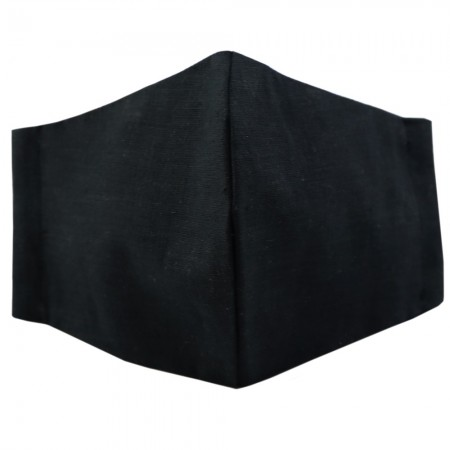 Nya Cloth Face Mask - Solid Black