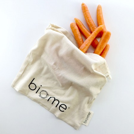 Biome Organic Cotton Muslin Produce Bag - Medium