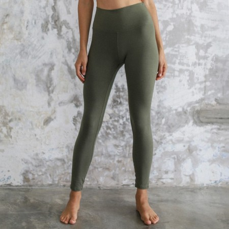 Indigo Luna Ananda Organic Cotton Leggings - Kale