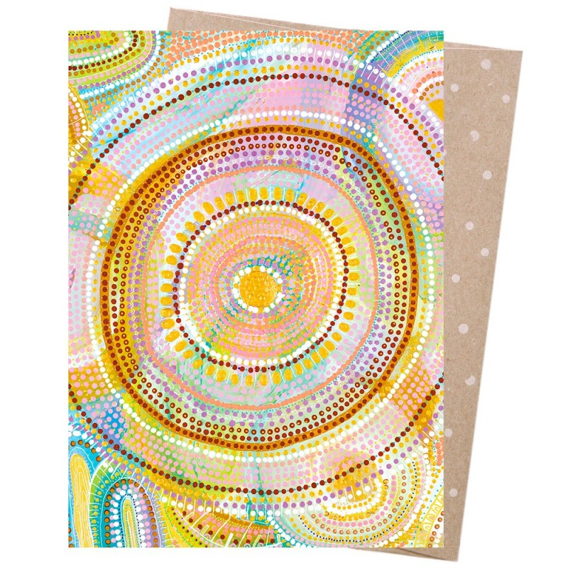 Earth Greetings Card - Cosmic Consciousness