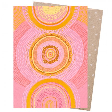 Earth Greetings Card - The Great Cosmic Sun