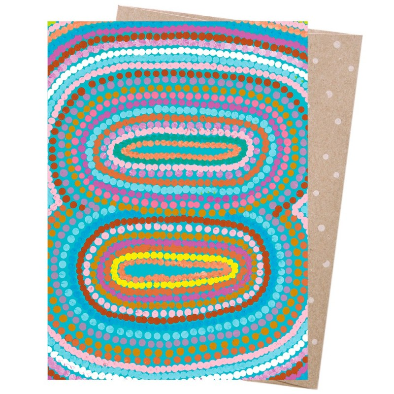 Earth Greetings Card - Women's Business