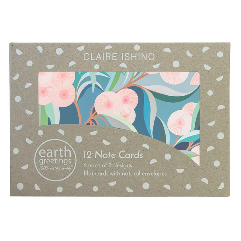 Earth Greetings Note Cards 12 Pack - In The Backyard