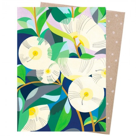 Earth Greetings Card - Lemon Scented Gum