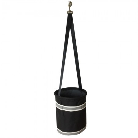 Sewroo Canvas Peg Bag - Midnight Black