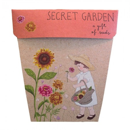 Sow 'n Sow Seed Greeting Card - Secret Garden