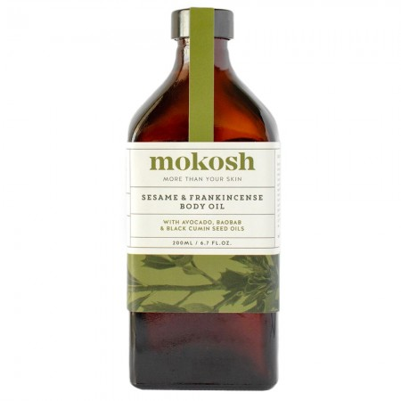 Mokosh Sesame & Frankincense Body Oil 200ml