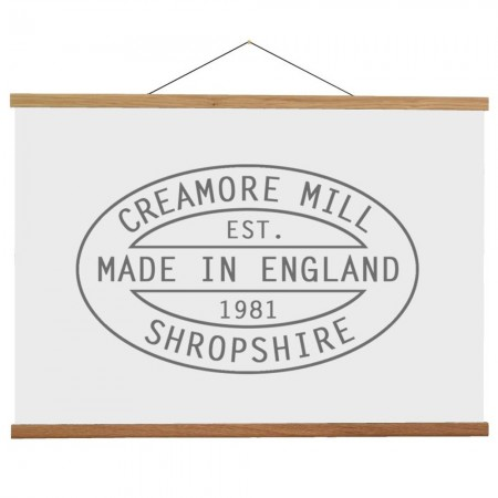 Creamore Mill Oak Poster Hanger 715mm - A1, A2 or 70x50cm