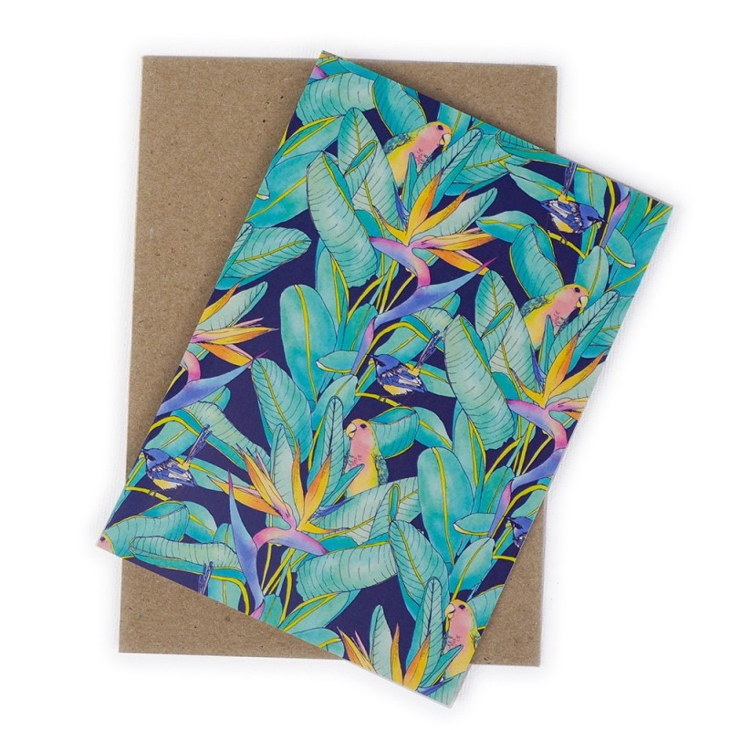 The Scenic Route Card - Birds of Paradise