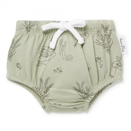 Aster & Oak Organic Cotton Frog Pond Bloomers - Sage