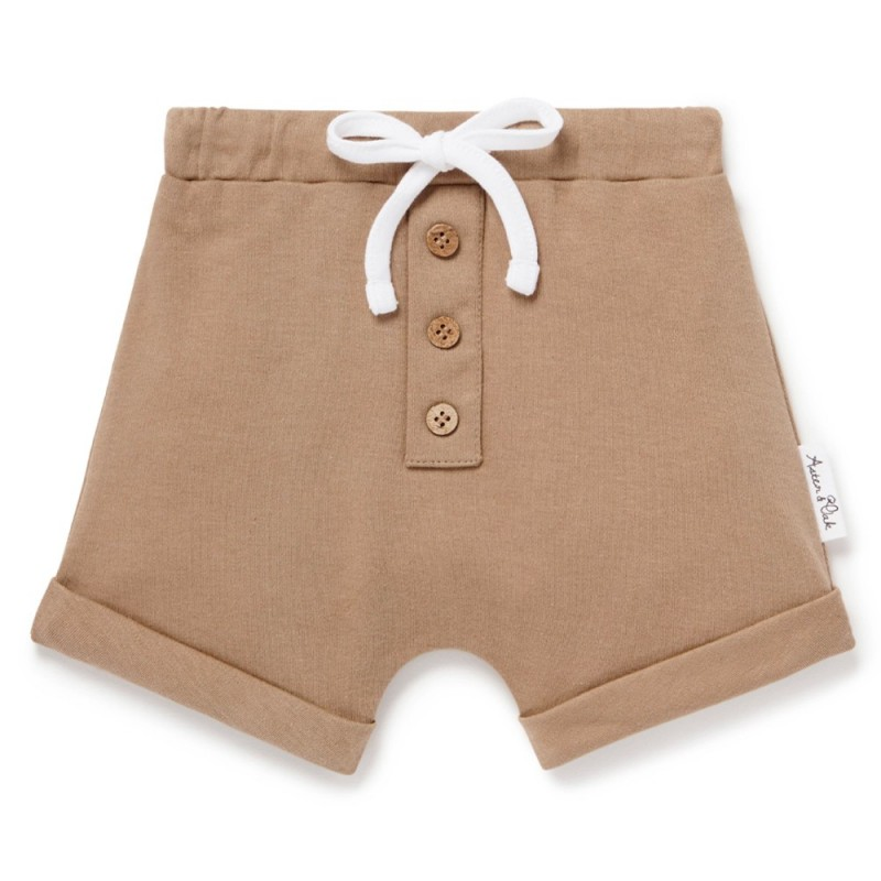 Aster & Oak Clay Button Shorts
