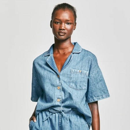 Outland Denim Faith Chambray Shirt - Weekend