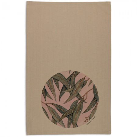 The Linen Press Ingrid Bartkowiak Organic Cotton Tea Towel - Starry Gum