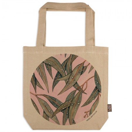 The Linen Press Ingrid Bartkowiak Organic Cotton Tote Bag - Starry Gum