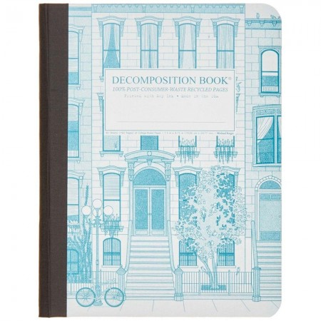 Decomposition Large Bound Notebook (Lined) - Brownstone