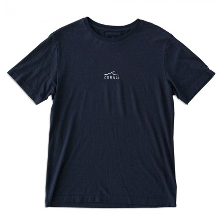 Zorali Hemp Logo Unisex Tee- Midnight Black