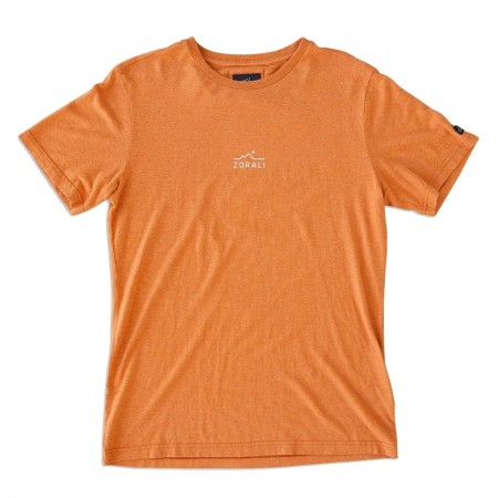 Zorali Hemp Logo Unisex Tee - Sunset Orange
