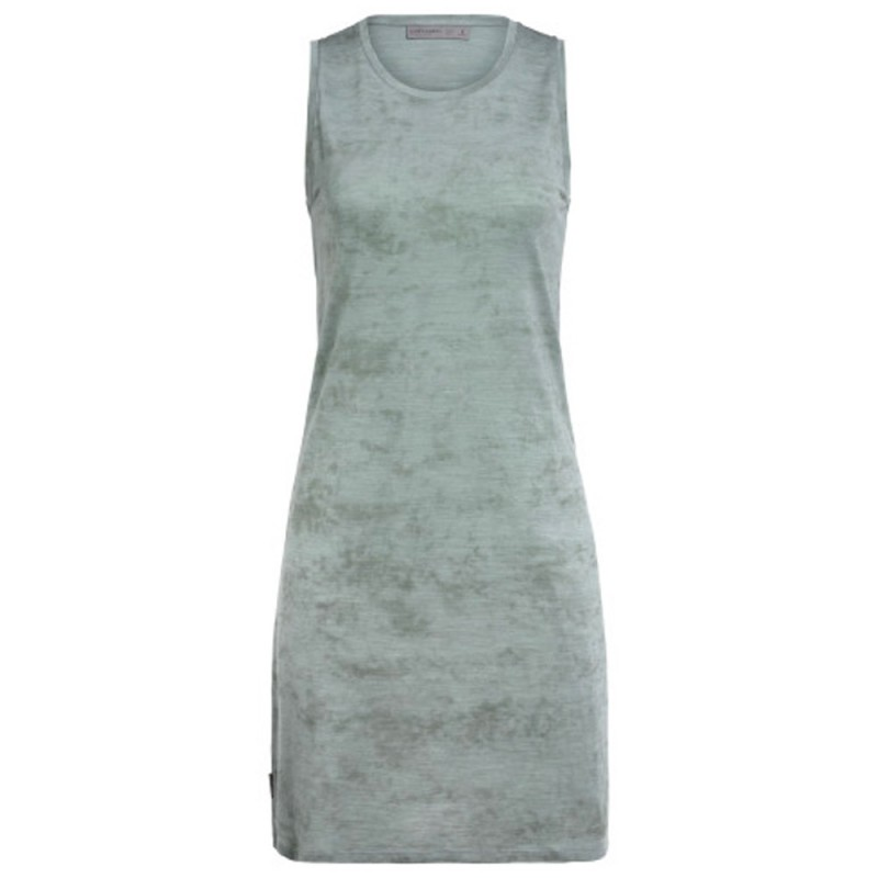 IcebreakerYanni Sleeveless Dress - Shale