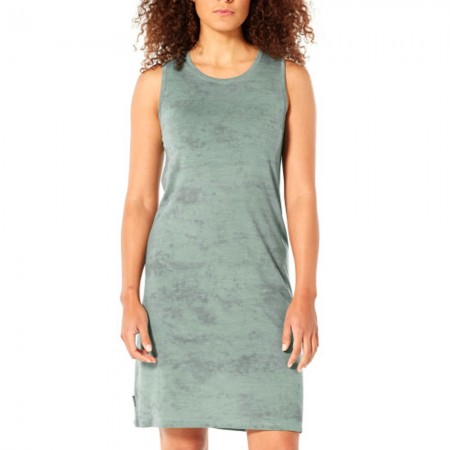 Icebreaker Merino Yanni Sleeveless Dress - Shale