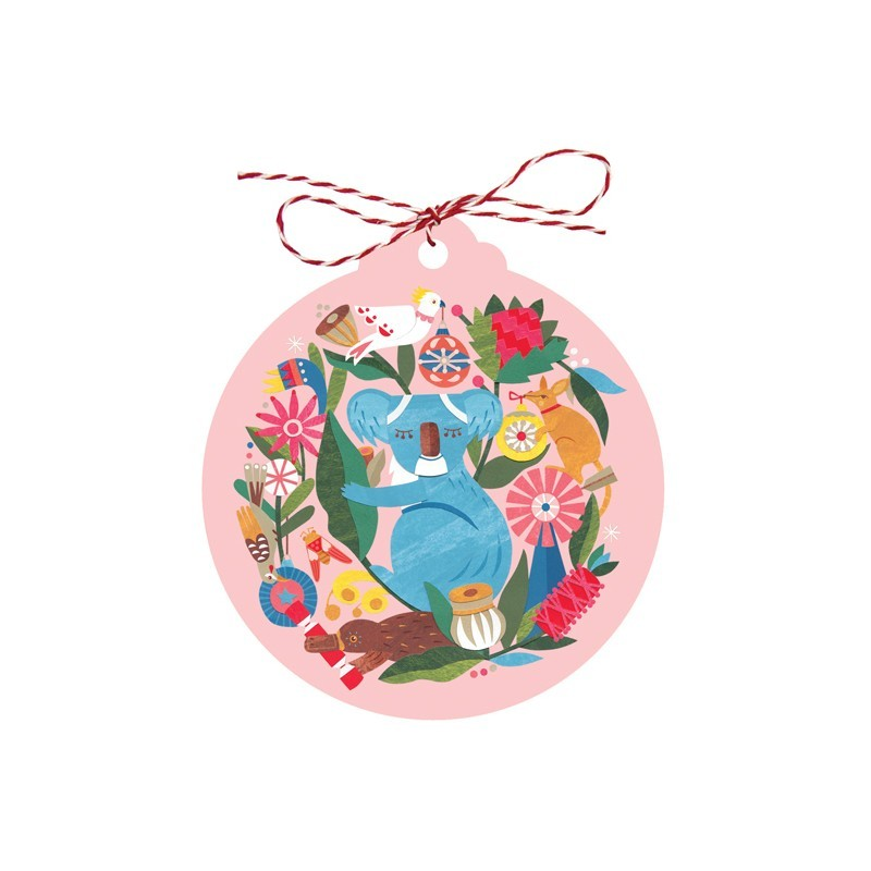 Earth Greetings Christmas Gift Tags 8pk - Circle of Friends