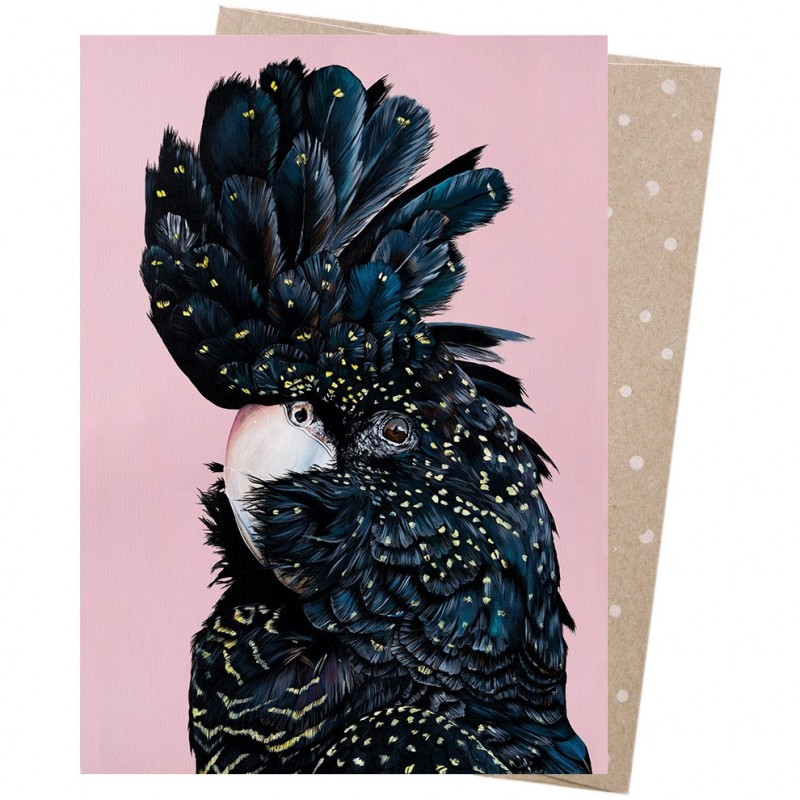 Earth Greetings Card - Rosie Red Tail