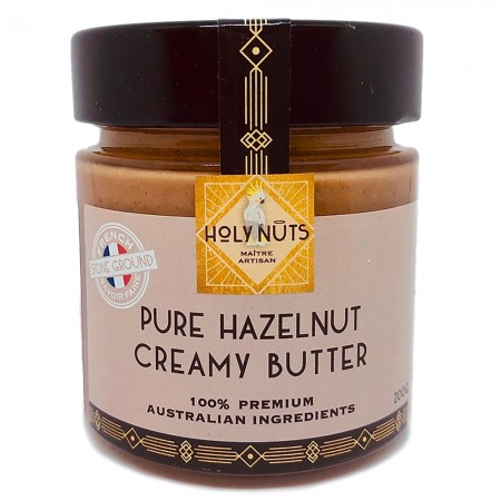 Holy Nuts Pure Hazelnut Creamy Nut Butter 200g