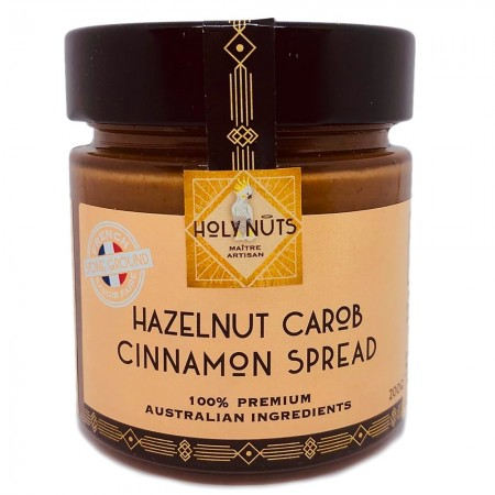 Holy Nuts Hazelnut Carob Cinnamon Spread 200g
