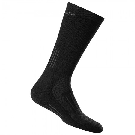 Icebreaker Woman's Lifetime Guarantee Hike Medium Crew Socks - Black