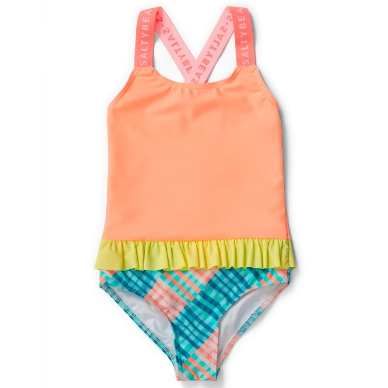 Salty Beasts Swimmer - Gingham A' Go-Go