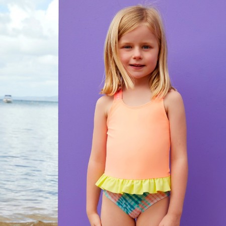 Salty Beasts Swimsuit - Gingham A' Go-Go