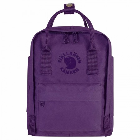 Fjallraven Re-Kanken Mini Backpack - Deep Violet