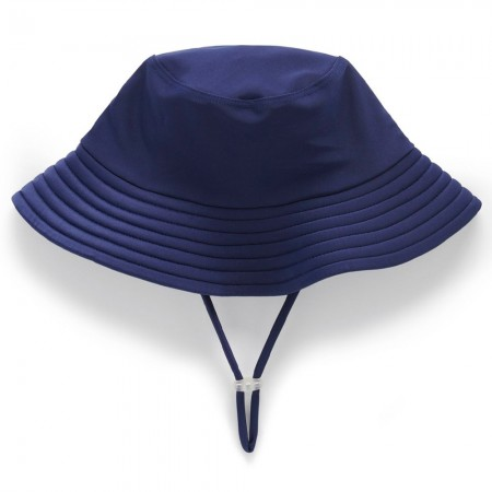 Purebaby Swim Broad Brim Sun Hat - French Navy