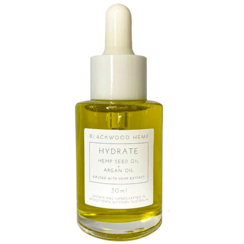Blackwood Hemp Face Oil 30ml - Hydrate with Argan