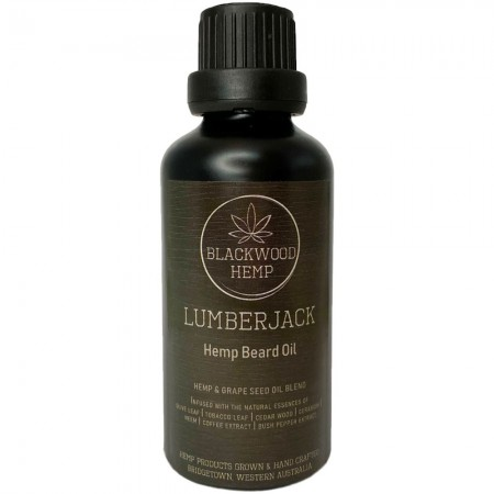 Blackwood Hemp Beard Oil 50ml - Lumberjack
