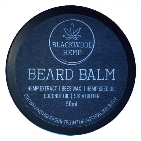 Blackwood Hemp Beard Balm 50ml