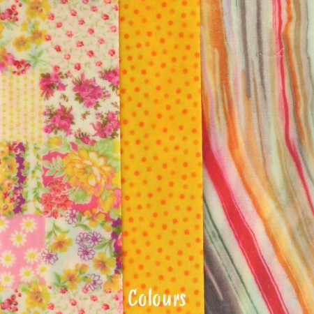 LAST CHANCE! Queen B Beeswax Assorted Wraps (3pk Med, Lge, XL) - Colour