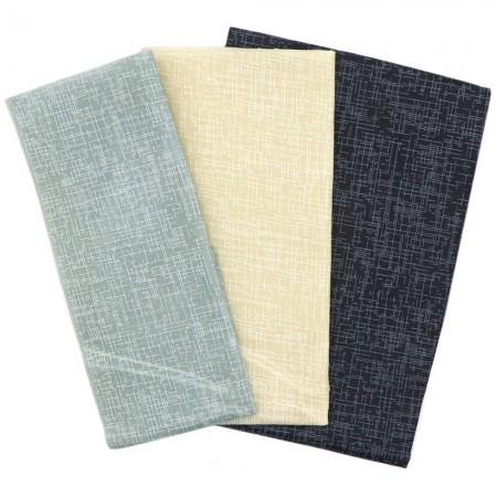 LAST CHANCE! Queen B Beeswax Assorted Wraps (3pk Med, Lge, XL) - Blue Steel