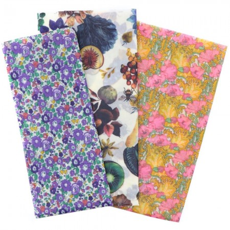 Queen B Beeswax Assorted Wraps (3pk) - Liberty of London