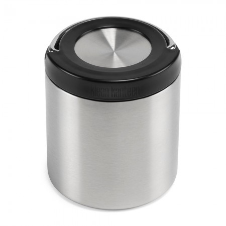 Klean Kanteen TKCanister with Insulated Lid 8oz 237ml - Brushed Stainless