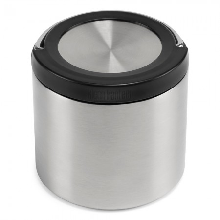 Klean Kanteen TKCanister with Insulated Lid 16oz 473ml - Brushed Stainless