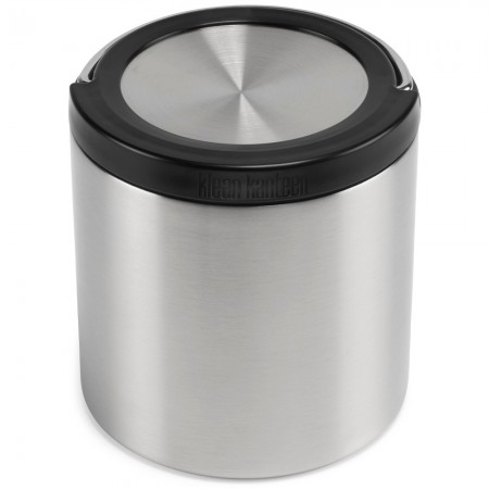 Klean Kanteen TKCanister with Insulated Lid 32oz 946ml - Brushed Stainless
